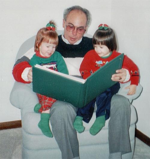 Grandad-and-twins