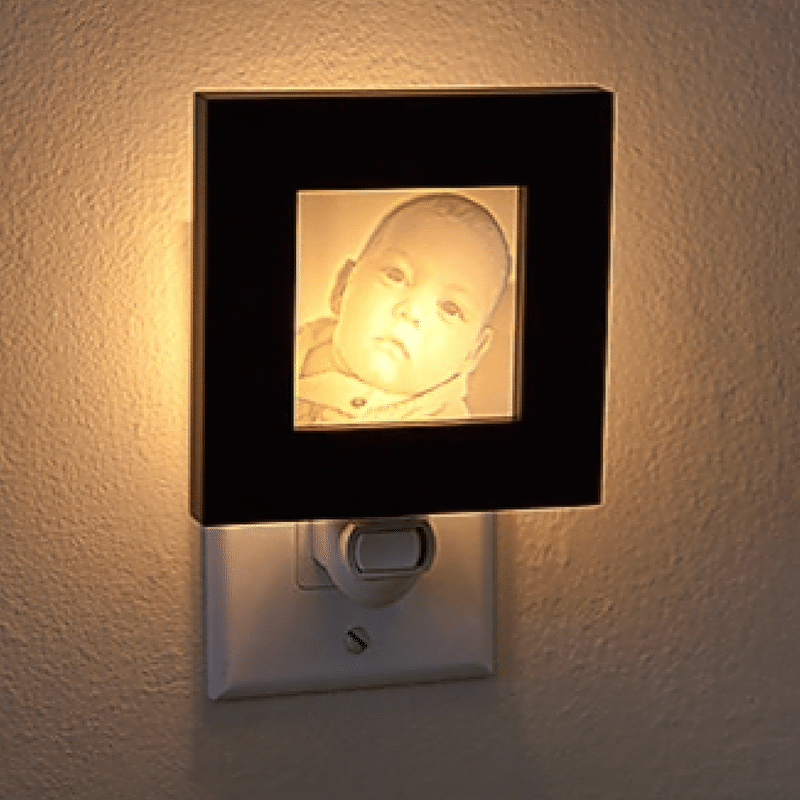 Photo Lamp from Light Affections | Unique Ways to Share Your Photos | ThePhotoOrganizers.com