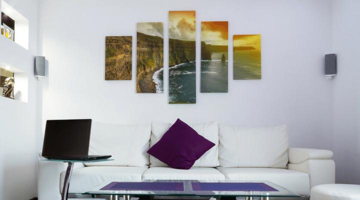 Photo Tip: Use canvas prints to showcase photos. | ThePhotoOrganizers.com