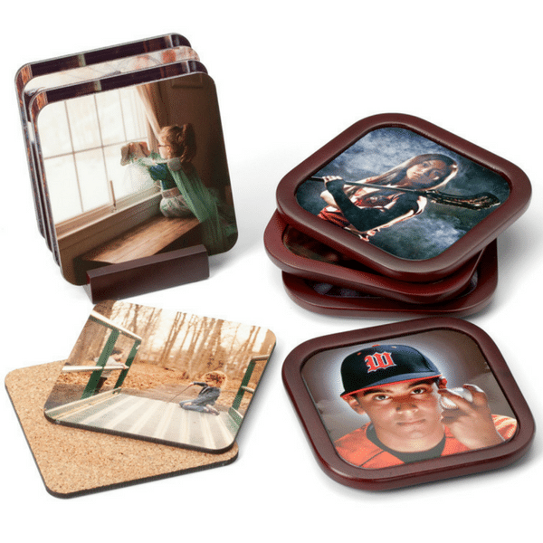Photo Coasters - Fun & Unusual Photo Gifts for Under $50 | ThePhotoOrganizers.com
