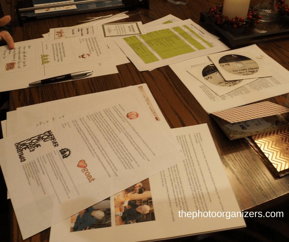 How to Create a Photo Advent Calendar Tree   ThePhotoOrganizers.com