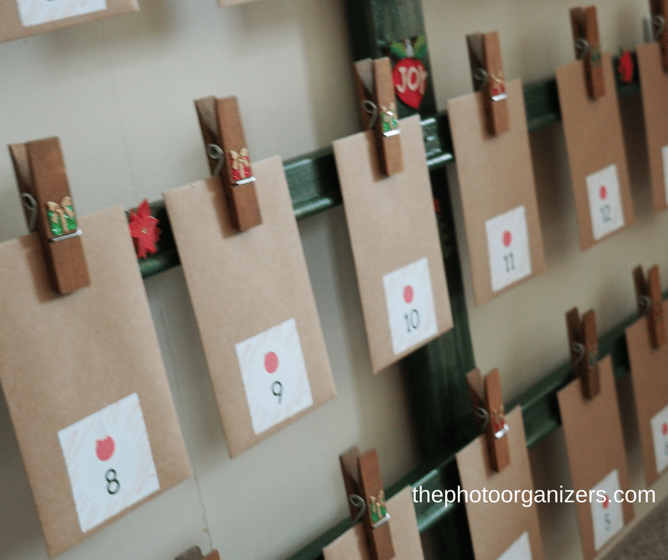 Create a Photo Advent Calendar for your loved one this holiday season. #memories