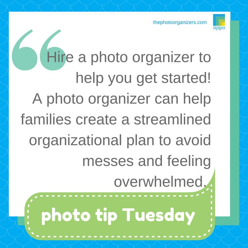 Photo Tip: Hire a Professional Organizer | ThePhotoOrganizers.com