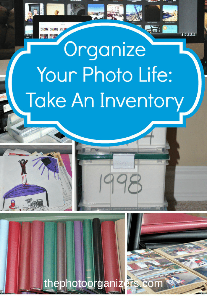 Organize Your Photo Life: Take An Inventory | ThePhotoOrganizers.com