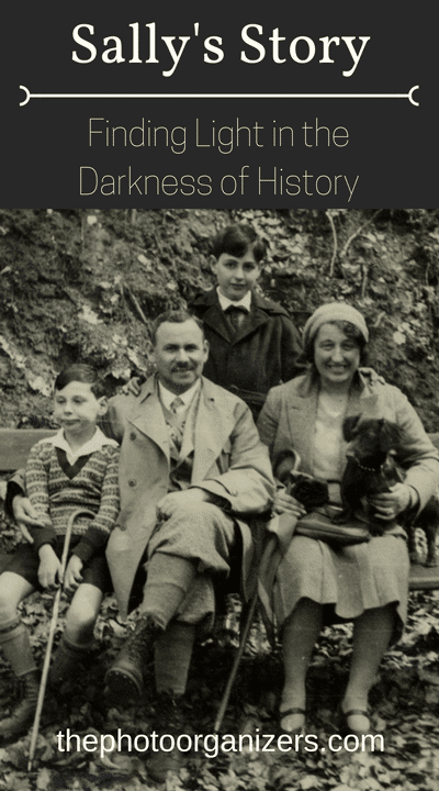 Sally's Story: Finding Light in the Darkness of a Family's History | ThePhotoOrganizers.com