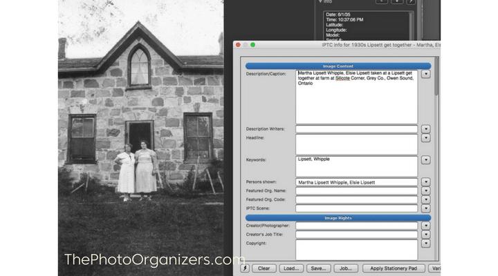 Metadata Part 1: Simplifying the Concept   ThePhotoOrganizers.com