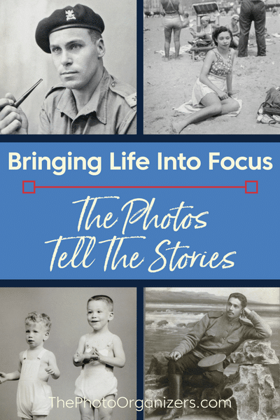 Bringing Life Into Focus: The Photos Tell The Stories | ThePhotoOrganizers.com