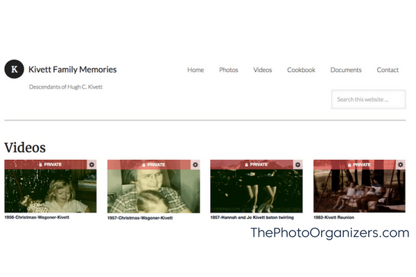 Sharing Family Photos: Is A Private Family Website Your Answer?   ThePhotoOrganizers.com