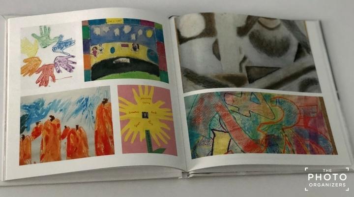 Simple & Fun Ways To Organize Your Children's Artwork | ThePhotoOrganizers.com