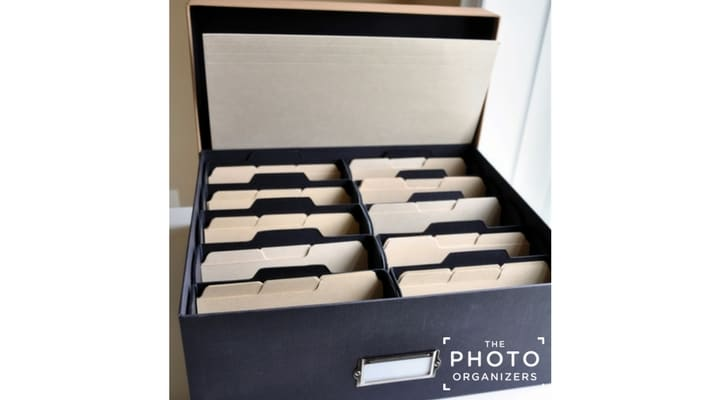 Six Simple Steps to Organize & Preserve Your Print Photos | ThePhotoOrganizers.com