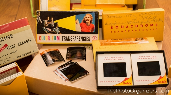 Giving 35m Slides New Life: Creating Photo Books and Slideshows from 35mm Slides | ThePhotoOrganizers.com