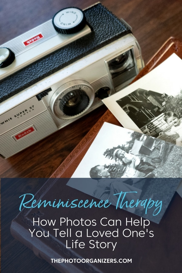 Reminiscence Therapy: How Photos Can Help Tell A Loved One's Life Story | ThePhotoOrganizer.com