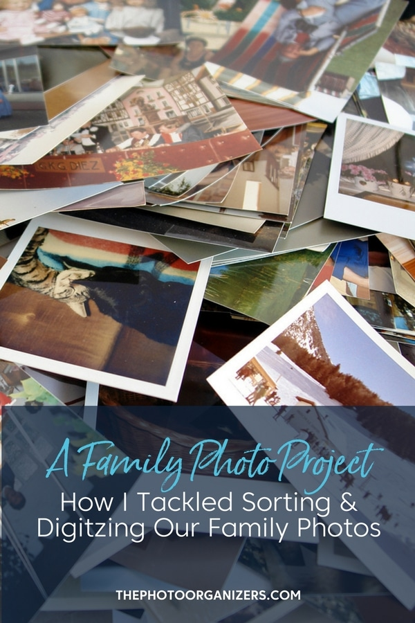 A Family Photo Project: How I Tackled Sorting & Digitizing Our Family Photos | ThePhotoOrganizers.com