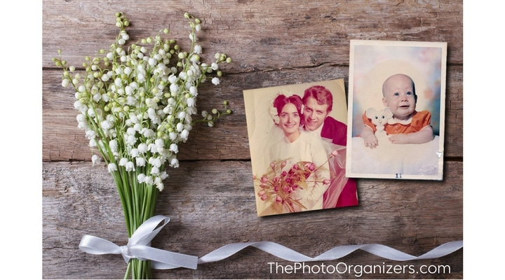 Why Weddings Are a Good Time To Organize Your Family Photos | ThePhotoOrganizers.com