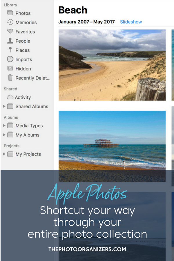 Keyboard Shortcuts for Apple Photos: Shortcut Your Way Through Your Entire Photo Collection | ThePhotoOrganizers.com