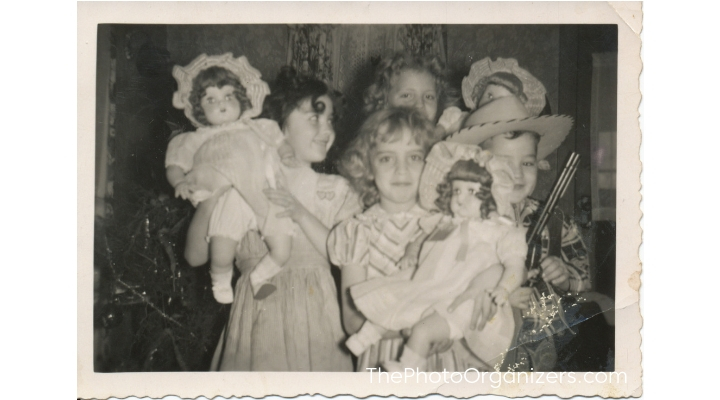 Family History: Christmas Memories Preserved | ThePhotoOrganizers.com