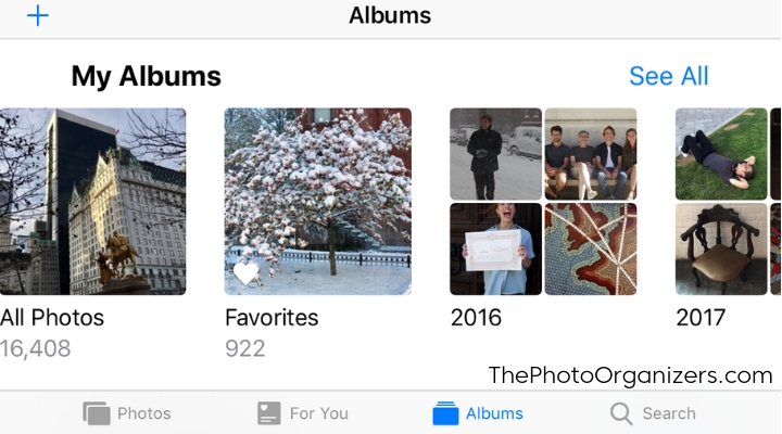 Apple Photos: Finding Your Pictures More Easily with iOS12 | ThePhotoOrganizers.com