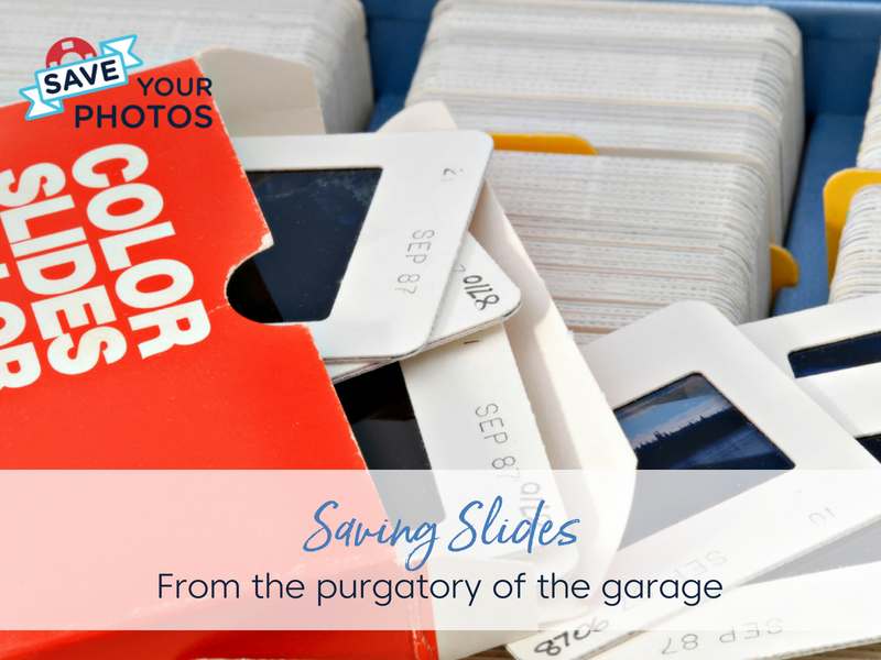 Saving Slides from the Purgatory of a Garage